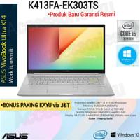LAPTOP ASUS VIVOBOOK K413FA-INTEL CORE i3 10110U-8GB-SSD 512GB-WIND 10
