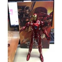 Marvel Ironman Mark 46 Civil war Action Figure with Led skala ZD Toys