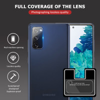 SAMSUNG GALAXY S20 FE / S20FE TEMPERED GLASS SCREEN CAMERA LENS COVER