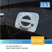 Tank cover bensin sporty chrome JSL All New Pajero Sport
