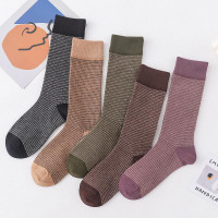 K1 Kaos Kaki Wanita Panjang Cotton Tebal Autumn Winter Wool