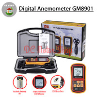 BENETECH GM8901 Digital Anemometer Thermometer Wind Speed Air Meter