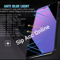 Temper Glass Anti Blue / Anti UV Redmi Note 3 4 4x 5 5A 6 7 8 9 K20