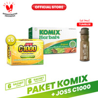 Paket Komix + Joss C1000 Vitamin C Anti Batuk