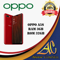 Oppo A5S 3/32 Red New Resmi