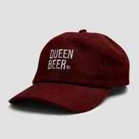 Queen Beer - Baseball Hat Devine Maroon
