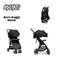 Stroller Papas Mamas Acro Buggi Black / kereta dorong bayi