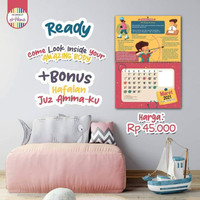 Kalender Dinding Elhana 2021 Amazing Body Bonus Poster Hafalan Juz Amm