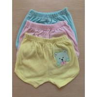 1 SET (3 PCS) Celana Pop Bayi usia 0 - 12 BULAN (H-01)