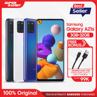 Samsung Galaxy A21s [3GB/32GB] Free Oraimo Kabel Data OCD-C53