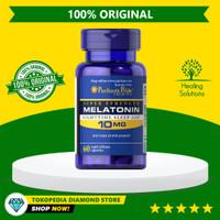 Puritan Pride Melatonin 10mg Super Strength - Obat Bantu Tidur