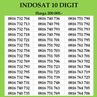 Nomor Cantik Indosat Im3 10 digit Kartu Perdana no simpati xl axis