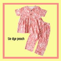 Baju Setelan Anak Perempuan Piyama One set Katun Rayon 2-9 tahun