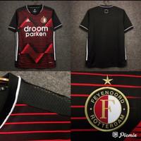 Jersey Bola Feyenoord Rotterdam Away New 2020-2021 Grade ORI Import