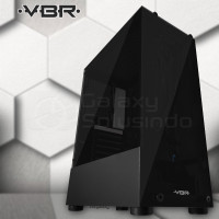 VBR PANTHER VP-001 Temperred Glass Gaming Case - Non Fan
