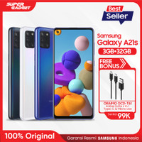 Samsung Galaxy A21s [3GB/32GB] Free Oraimo Cable Data OCD-T61