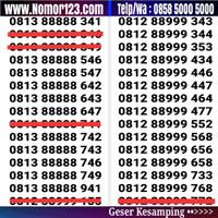Nomor cantik simpati telkomsel seri ribuan