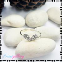 Cincin Berlian Zircon Bentuk Hati Diamond Heart Shape Ring