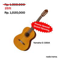 Miliki Yamaha C330A - Classic Guitar. Harga Special 25% off