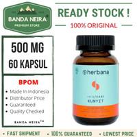 Herbana Kunyit 60 Kapsul 500 Mg