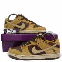 Sepatu Sneakers Casual Nike SB DUNK LOW PRO Brown Pack Premium BNIB - Brown, 40
