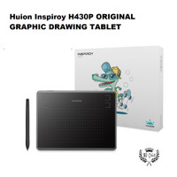 Huion H430P Graphic Drawing Tablet utk Komputer PC free battery pen