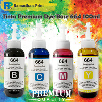 Tinta Refill Printer Epson L355 L360 L365 L380 L385 L405 L455 L485 664 - Hitam