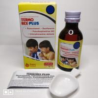 TERMOREX PLUS (60ML) Sirup Flu dan Batuk - Tanpa Alkohol - Rasa Jeruk