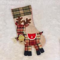 Gantungan Kaos Kaki Natal / Christmas Socks 7240 - Reindeer