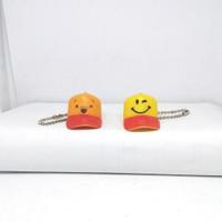 Gantungan Kunci Miniatur Topi Set