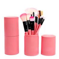 JBS NY brush set kuas Makeup 12 pcs kuas foundation Brush tabung