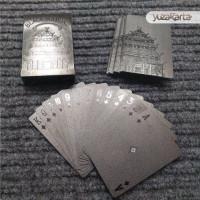Kartu Poker Card Remi Plastik Waterproof Black Diamond