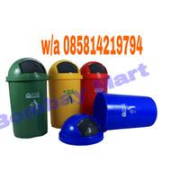 tempat sampah 50 liter bulet / dust bin