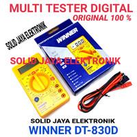 MULTI TESTER DIGITAL WINNER DT-830D MULTIMETER DT 830D 830 D ORIGINAL