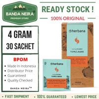 Herbana Temulawak Powder 30 Sachet 4 Gram