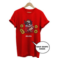 Kaos Baju Combed 30S Distro SAPi SiNCiA iMLEK polos custom indonesia