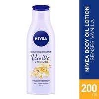 Nivea Hand And Body Lotion Vanilla & Almond Oil Botol 200ml