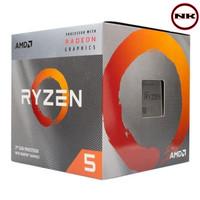 Processor AMD Ryzen 5 3400G 3.7 - 4.2 GHz Socket AM4 With Radeon Vega