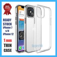 Soft Case Bening iPhone 11 12 Mini Pro Max Transparan Casing Slim