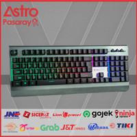 Keyboard Gaming Sades Whisper - RGB Membrane Backlight