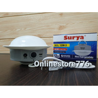 SURYA SCL L12W Frosted Lampu Led Emergency Darurat Rechargeable