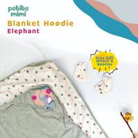 Selimut Topi Petite Mimi Hoodie Blanket