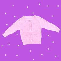 Baju Sweater Rajut Cardigan Atasan Anak Perempuan Import Real Pic No21