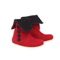 Sepatu Bayi Anak 1-2-3 Tahun / Sepatu Boots Merah Anak Perempuan CR2