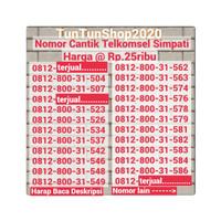 NOMOR CANTIK NOCAN PERDANA SIMCARD SIM CARD SIMPATI TELKOMSEL (25)