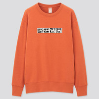 Sweater Uniqlo Mickey Mouse x Keith Haring Sweatshirt Original 431819