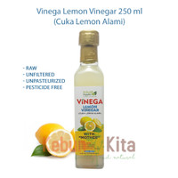 Vinega Lemon Vinegar with The Mother 250ml (Cuka Lemon Alami)
