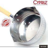 Panci Aluminium 2.2 mm 18cm SN-0208 CYPRUZ SAUCEPAN Panci Murah