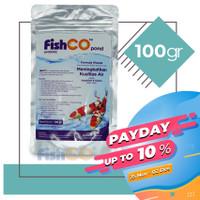 Bakteri Probiotik untuk Kolam Ikan Koi FISHCO POND 100gram