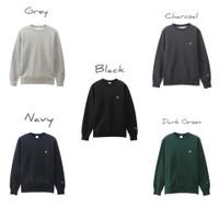 Champion Crewneck Sweater Basic Logo Original Japan - Grey, M